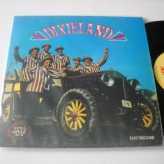 ORCHESTRA ELECTRECORD (cu Johnny Raducanu): Dixieland (Seria Jazz nr. 8)(1970) - Muzica Jazz electrecord, VINIL