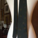 Cravata MONTI matase - 1, Verde