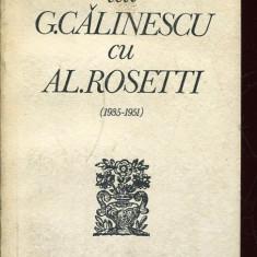 LICHIDARE-Corespondenta lui G.Calinescu cu Al.Rosetti - Autor : - - 135253 - Roman