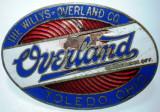 I.621 USA SUA INSIGNA AUTO WILLYS OVERLAND TOLEDO OHIO 50/35mm email, America de Nord