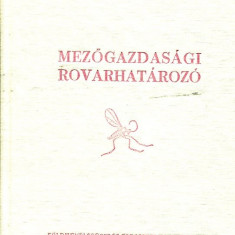 LICHIDARE-Mezogazdasagi rovarhatarozo - Autor : Peterfi Ferenc - 71180 - Curs Limba Maghiara
