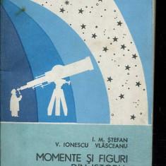 LICHIDARE-Momente si figuri din istoria astronomiei romanesti - Autor : I. M. Stefan, V. Ionescu Vlasceanu - 111088 - Carte Astronomie