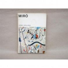 Miro, Umbro Apollonio, 1970
