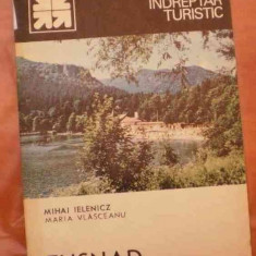 LICHIDARE-Tusnad- mic indreptar turistic - Autor : Mihai Ielenicz - 65036 - Carte Geografie