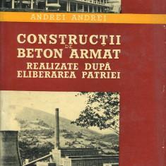 LICHIDARE-Constructii de beton armat realizate dupa eliberarea patriei - Autor : Andrei Andrei - 98644 - Carti Constructii