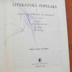 LICHIDARE-Literatura populara- vol.I - Autor : C. Radulescu - Codin - 80461 - Carte folclor