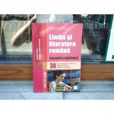 Limba si literatura romana - evaluare nationala - Caiet de lucru, Virginia Olaru, 2014 - Carte Teste Nationale