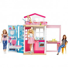 Jucarie Barbie Casa Barbie Story House DVV47 Mattel - Papusa
