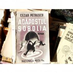 Adapostul Sobolia , Cezar Petrescu , 1945