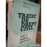 PAUL COSMOVICI - TRATAT DE DREPT CIVIL VOL I PARTEA GENERALA {ED ACADEMIEI 1989 360 PAG]