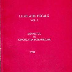 LICHIDARE-Legislatia fiscala, nr. 1- 1991 - Autor : - - 114603 - Carte Drept penal