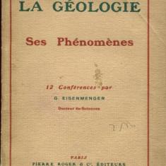 LICHIDARE-La geologie, ses phenomenes - Autor : G. Eisenmenger - 89768 - Cursuri limbi straine