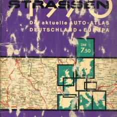 LICHIDARE-Strassen : Der aktuelle Auto-Atlas Deutschand + Europa 1976 - Autor : - - 95421 - Enciclopedie