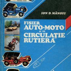 LICHIDARE-Fisier auto- moto si de circulatie rutiera - Autor : Ion D. Manoiu - 60874