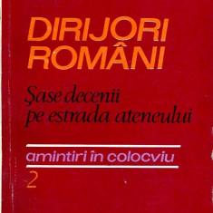 LICHIDARE-Dirijori romani- sase decenii pe estrada ateneului 2 - Autor : Alex. Radulescu - 63380 - Carte Arta muzicala