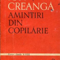 LICHIDARE-Amintiri din copilarie - Autor : Ion Creanga - 91420 - Carte educativa