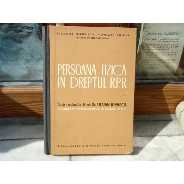 Persoana fizica in dreptul R.P.R , Traian Ionascu , 1963 foto mare