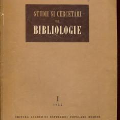 LICHIDARE-Studii si cercetari de bibliologie - Autor : - - 138062