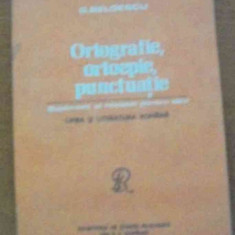 LICHIDARE-Ortografie, ortopedie, puctuatie - Autor : G. Beldescu - 80313 - Carte Ortopedie