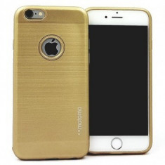 Husa Motomo Fashion Case Samsung Galaxy S6 Edge GOLD - Husa Telefon