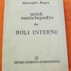 LICHIDARE-Mica enciclopedie de boli interne - Autor : Gheorghe Mogos - 55627