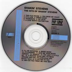 Shakin' Stevens - The hits of... (1990, Sony/Epic) CD original, tracklist - Muzica Rock & Roll