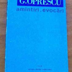 LICHIDARE-Amintiri, evocari - Autor : G. Oprescu - 66981 - Biografie