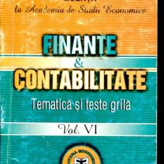 LICHIDARE-Finante si contabilitate- tematica si teste grila- vol.VI - Autor : Carmen Taranu - 90176 - Carte Contabilitate