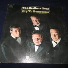 The Brothers Four - Try To Remember _ vinyl, LP, album, Columbia(SUA) - Muzica Pop Columbia, VINIL
