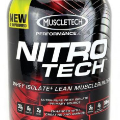 Muscletech Nitro-Tech New 908 g - Concentrat proteic