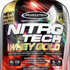 Muscletech Nitro Tech Whey Gold 2.72 kg - Concentrat proteic