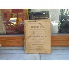 CODICELE CIVIL, PARTEA 2, C. CHRISTESCU - Carte Drept civil
