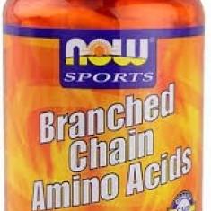 Now Brached Chain Amino Acid 120 caps - Aminoacizi
