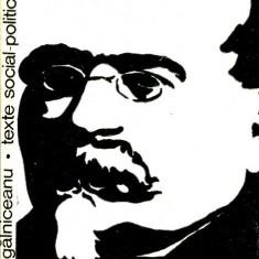 LICHIDARE-Texte social-politice alese- - Autor : Mihail Kogalniceanu - 130108 - Carte Politica