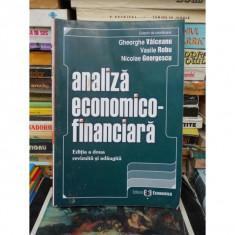 ANALIZA ECONOMICO-FINANCIARA, GHEORGHE VALCEANU