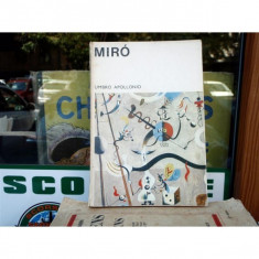 Miro , Umbro Apollonio , 1970