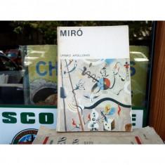 Miro, Umbro Apollonio, 1970 - Album Pictura