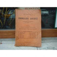 Repertoriu de formulare juridice, Lascar Davidoglu, 1942 - Carte Drept procesual civil