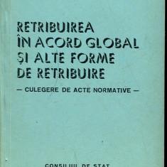 LICHIDARE-Retribuirea in acord global si alte forme de retribuire - Autor : - - 99537 - Carte Drept penal