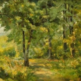 Ion Panteli Stanciu - Padure - Pictor roman, Peisaje, Ulei, Altul