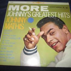 Johnny Mathis - More Johnny's Greatest Hits _ vinyl, LP, Columbia Records(SUA) - Muzica Pop Columbia, VINIL