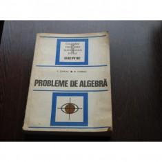 PROBLEME DE ALGEBRA - V.CHIRIAC - Teste Bacalaureat
