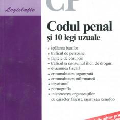 LICHIDARE-Codul penal si 10 legi uzuale - Autor : - - 96964 - Carte Drept penal