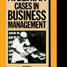 LICHIDARE-Nigerian cases in business management - Autor : J. O. Onah - 82480 - Carte Management