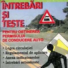 LICHIDARE-Intrebari si teste pentru obtinerea permisului de conducere auto 2007 - Autor : - - 76883 - Carti auto