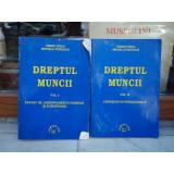 DREPTUL MUNCII 2 VOLUME , MARIN VOICU , 2001