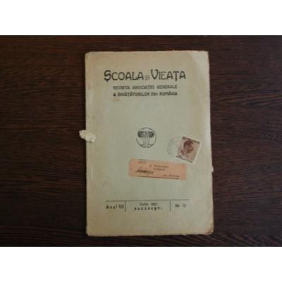 Scoala si Vieta, Revista Asociatiei Generale a Invatatorilor din Romania foto