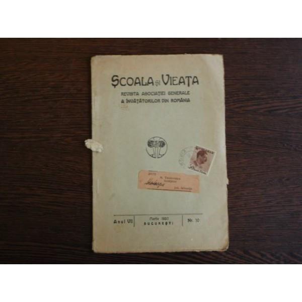 Scoala si Vieta, Revista Asociatiei Generale a Invatatorilor din Romania foto mare