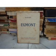 EGMONT, Goethe, 1949 - Carte Teatru