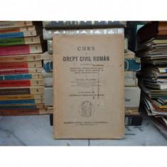 CURS DE DREPT CIVIL ROMAN VOLUMUL VII, George Plastara - Carte Drept civil